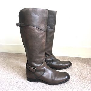 FRYE Phillip Leather Tall Riding Boots Sz 9.5